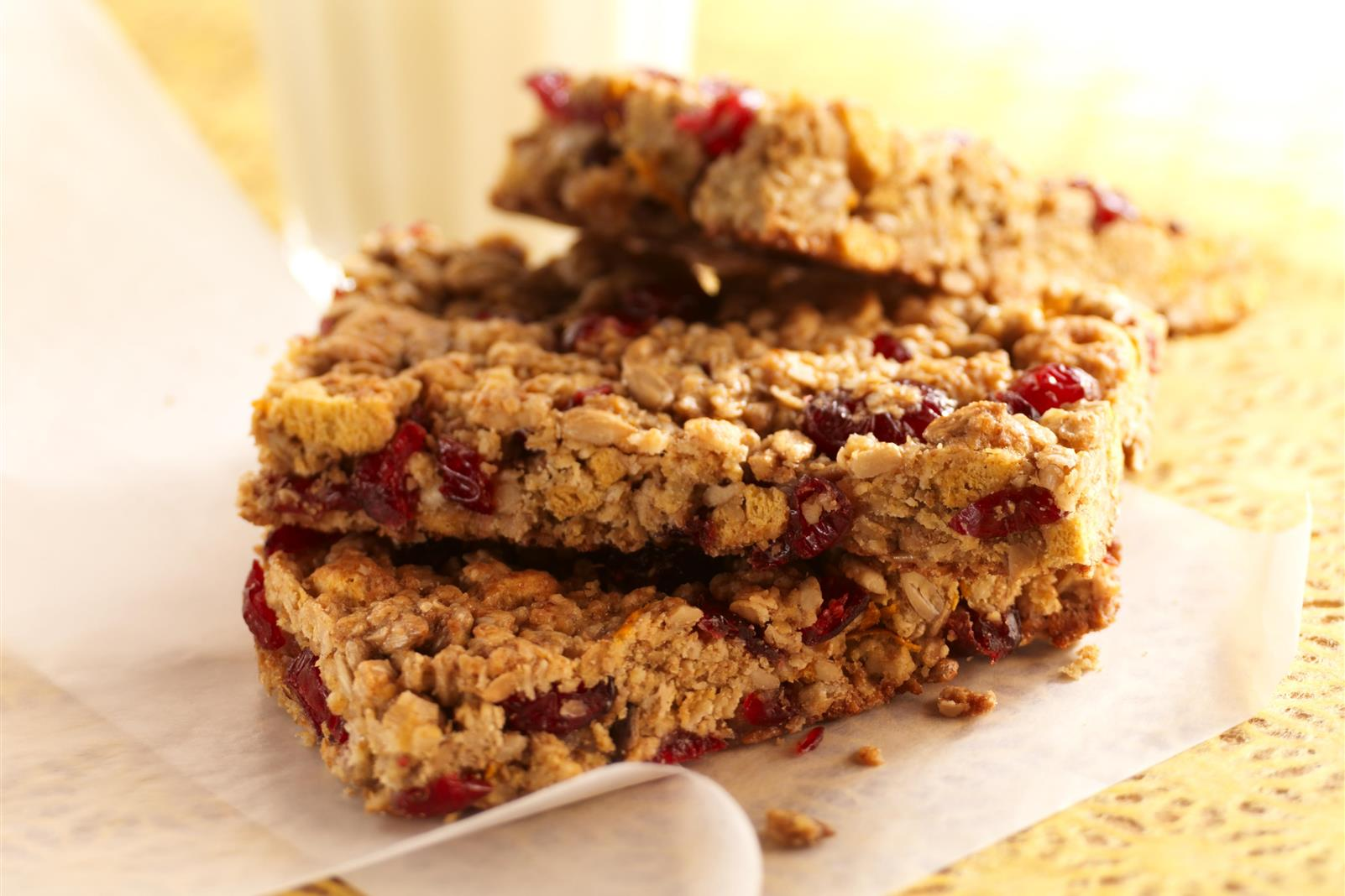 Craisins® Dried Cranberries Breakfast Bars